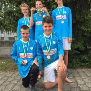 Widnauer gewinnen Bronze an der U14 Ostschweizer-Meisterschaft