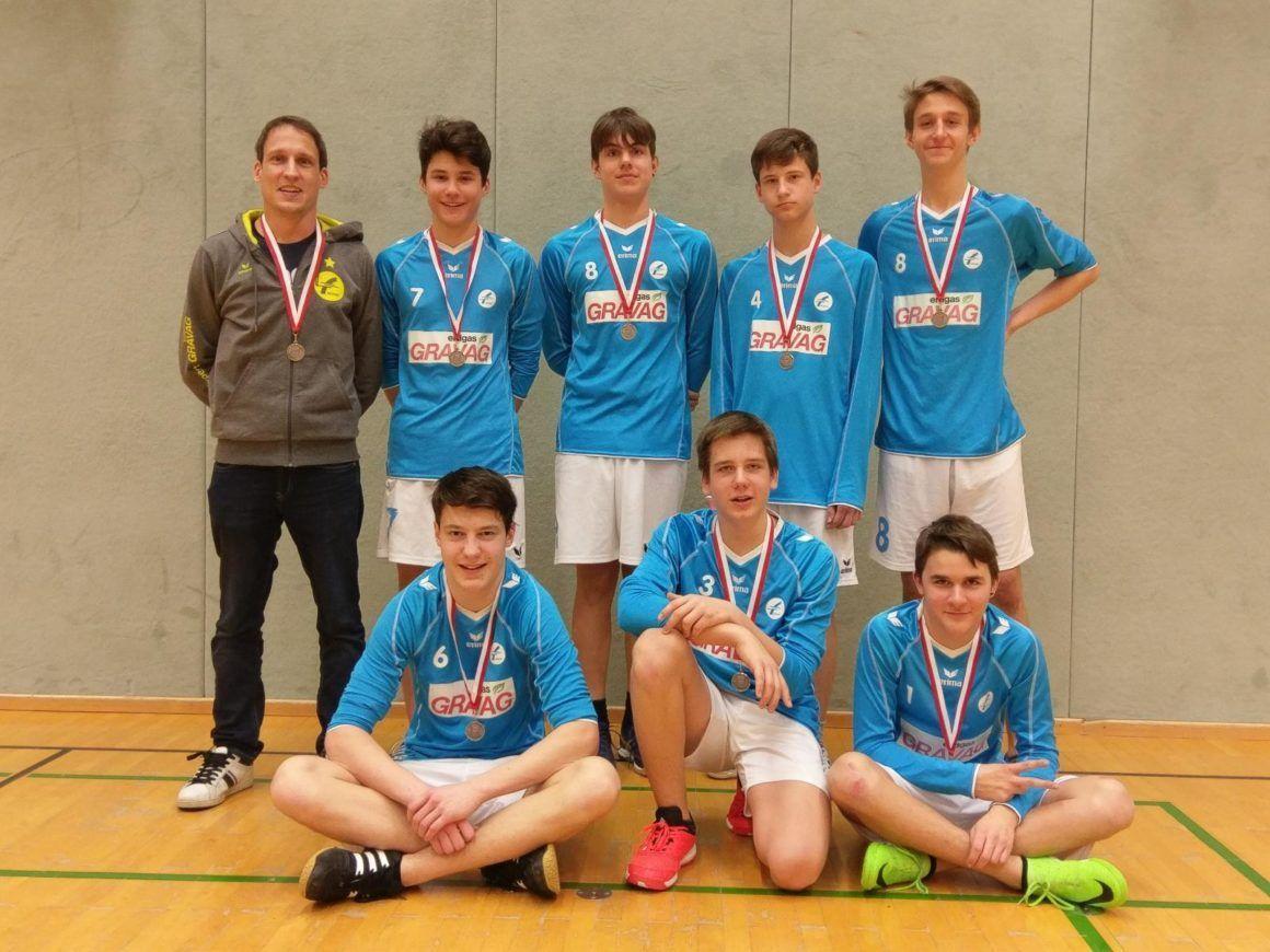 U16 gewinnt Silber an der Jugendmeisterschaft