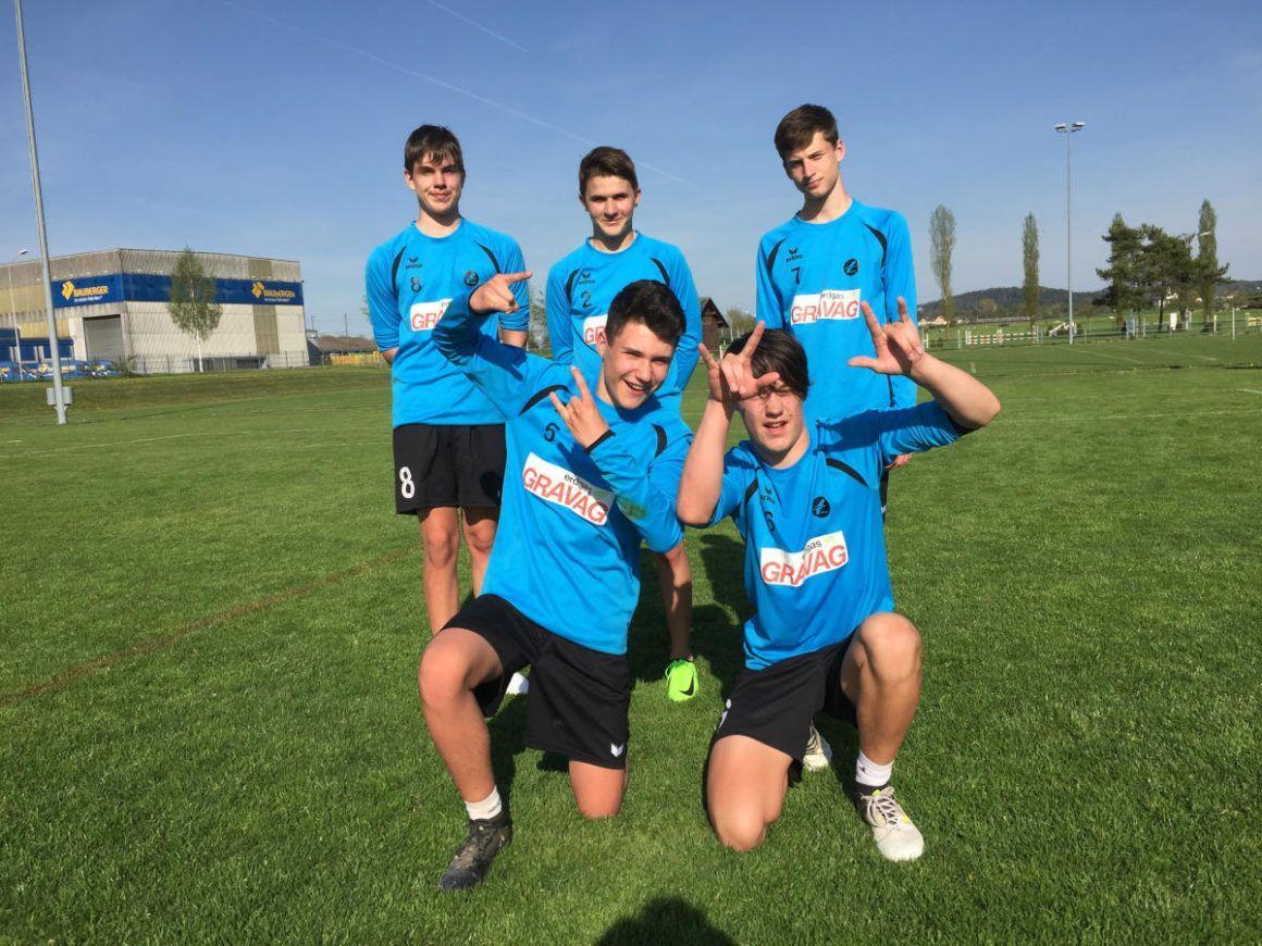 Gelungener Saisonstart für U16