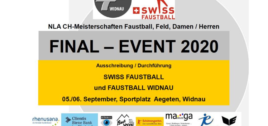 Final Event Broschüre