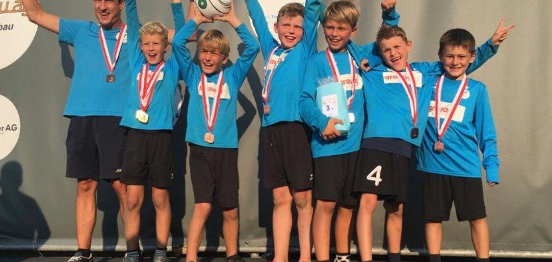 Bronzemedaille für unsere U10